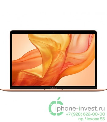 Apple MacBook Air 2018 256 Gb Gold (MREF2)